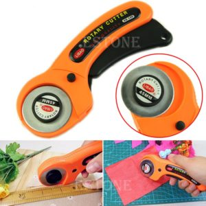 2017 NEW 45mm Rotary Cutter Premium Quilters Sewing Quilting Fabric Cutting Craft Tool MAR28_15